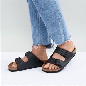 Birkenstock🔴Arizona Black Leather size 40